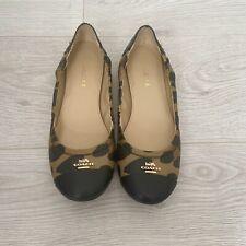 Coach Camilla Flat Cheetah Print Shoes