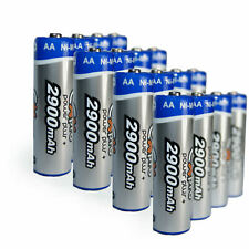 Ex-Pro® Power Plus+ Rechargeable Ni-Mh Batteries - AA Size [2900mAh] - 16 Pack
