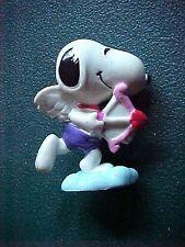 Peanuts Snoopy as Cupid Figurine Purple Pants