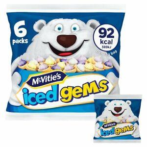 Mcvitie's Iced Gems 6 packs - Sold Worldwide From UK