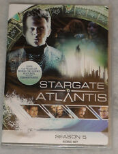 Stargate Atlantis Season Series 5 Five Complete DVD Box Set - NEW & SEALED