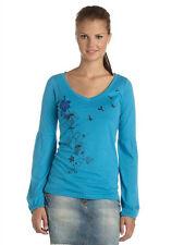 Damen- Langarmshirt von Maui Wowie türkis Größe XS