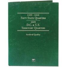 Littleton Coin Folder LCF3T - Statehood/DC/Territory Quarters 1999-2009