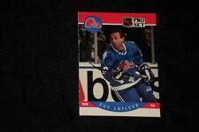 HOF GUY LaFLEUR 1990-91 PRO SET  SIGNED AUTOGRAPHED CARD #250 NORDIQUES