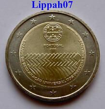 Portugal speciale 2 euro 2008 '60 jr Mensenrechten' UNC