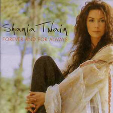 CD Single Shania TWAIN Forever And For Always 2002 Spanish promo