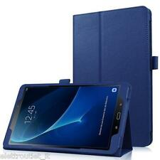 CUSTODIA COVER Integrale SMART SUPPORTO per Samsung Galaxy Tab A6 10.1 2016 Blu