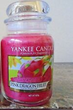 Yankee Candle  Pink Dragon Fruit  22 oz. 1 Single NEW Candle Free Ship European