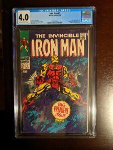 Iron Man Volume 1 Issue 1 CGC 4.0