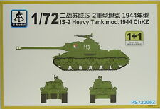 Heavy Solid IS-2 mod 1944 ChKZ, 1/72, S-Model , 2 Models, Plastik, NEU