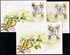 2006. Belarus. BIRDS of the garden. FDCs