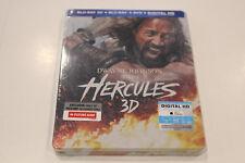 NEW - Hercules - Bluray 3D / 2D + DVD + Digital HD - Steelbook - Region A / 1