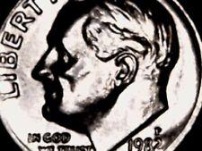 1982P Roosevelt Dime Bu.
