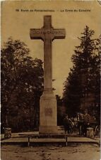 CPA forét Fontainebleau - the cross of calvary (248819)