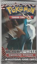 Pokemon Black & White EMERGING POWERS sealed booster pack x2