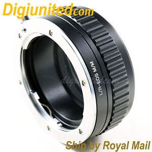 Leica R L/R mount lens to Canon EOS M M2 EF-M adapter Macro Focusing Helicoid M3