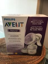 PHILLIPS AVENT NATURAL MANUAL BREAST PUMP NEW & SEALED