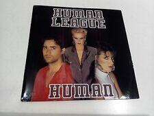 """HUMAN LEAGUE Human Unique 7"""" EX Vinyl Record VS880 P/S"""