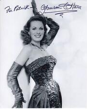 MAUREEN O'HARA Autographed Signed Photograph - To Patrick
