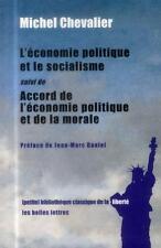 l'économie politique et le socialisme (1849)   accord entre l'économie politique