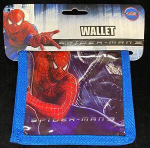 New Marvel Spider-man 3 Blue Bifold Wallet