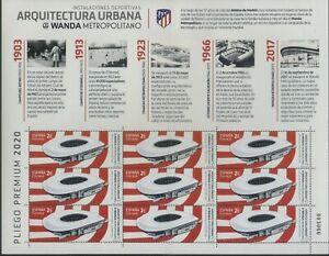 Spain 2020 Sport, Soccer, Football, Wanda Metropolitano Stadium MNH**