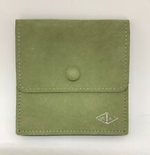 AUTH NEW VAN CLEEF & ARPELS VCA Gusset Jewelry Travel Pouch Wallet Midium
