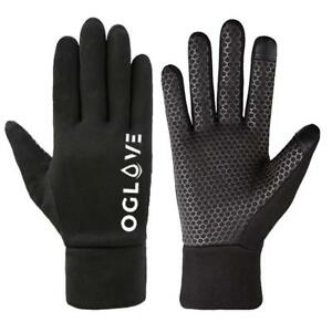 Football Field Player Gloves Waterproof Thermal Grip Boys Kids Junior Oglove