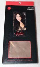 Sofia by Sofia Vergara Sheer  Panty Hose w/ Lace Panty Nude Medium/Large