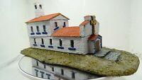 Mediteranean Catholic Church. 15mm.1:100 Scale. hand cast resin