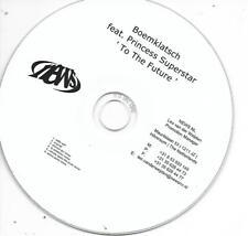 BOEMKLATSCH ft PRINCESS SUPERSTAR - To the future Promo CDS 6TR Holland 2011