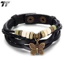 Butterfly Leather Fashion Bracelets
