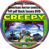Creepy Comics Magazine Horror Thriller Science Fiction Pulp Fiction 141 PDF DVD
