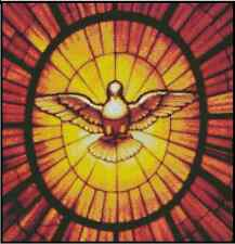 Dove of the Spirit -Stained Glass Counted Cross Stitch COMPLETE KIT#15-106