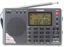 TECSUN PL380 Radio FM stereo MW SW LW World Band PLL Portable DSP ETM Receiver
