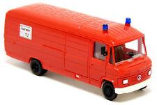 Herpa 4086 Mercedes Benz MB T2 508 D Kasten GW Feuerwehr rot neutral LKW 1:87 H0