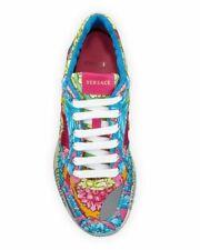 NWT Men's Versace Multi Pattern Achilles Sneakers Size 9 Retails $795