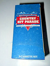 Country Hit Parade-feat:Oak Ridge Boys,Bellamy Brothers,Vince Gill...3 cassettes