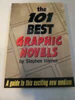 THE 101 BEST GRAPHIC NOVELS BOOK by Stephen Weiner SC NEW!