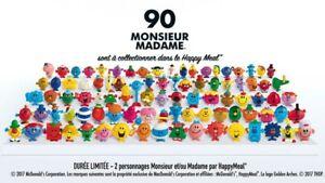 Collection complète MONSIEUR MADAME 90 figurines McDonald's Happy Meal mac do mc
