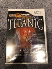 Hidden Mysteries: Titanic - Secrets of the Fateful Voyage (Nintendo Wii, 2009)