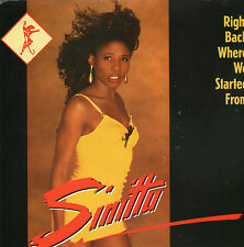 """Sinitta - Right Back Where We Started From - 7 """" Single"""