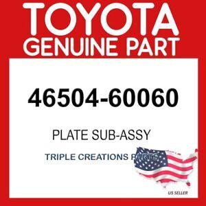 TOYOTA GENUINE 4650460060 PLATE SUB-ASSY, PARKING BRAKE, LH 46504-60060