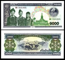 LAOS  1000 Kip 2003 UNC P 32A b