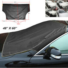 Black Car SUV Magnet Windshield Cover Sun Shield Snow Ice Frost Freeze Protector