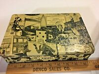 Vintage Zippo Lighter Collector Guide Tin Storage Display SKU 025-022