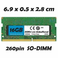 16 GB Mémoire vive RAM DDR4 pour MSI GV72 7RD Ordinateur Portable