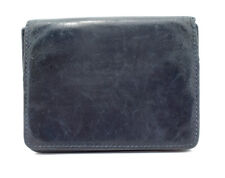Common Projects Mens Leather Card Business Card Wallet Holder Blue