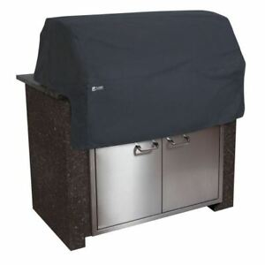 Classic Accessories Black Built-in BBQ Top Cover-Large