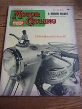 MOTOR CYCLING  14.12.61 MIKE HAILWOOD MONDIAL, HONDA 125 TRACK,
